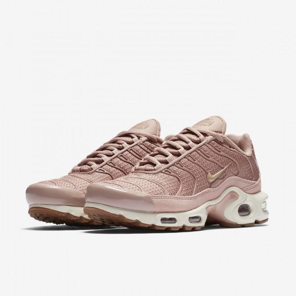 Nike Air Max Plus Freizeitschuhe Damen Pink Weiß Braun Beige 233-73182