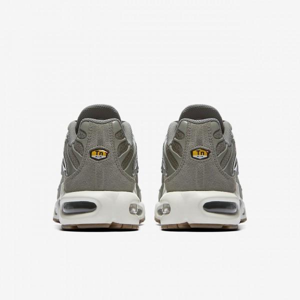 Nike Air Max Plus Freizeitschuhe Damen Dunkelolive Weiß Braun Grün 463-13477