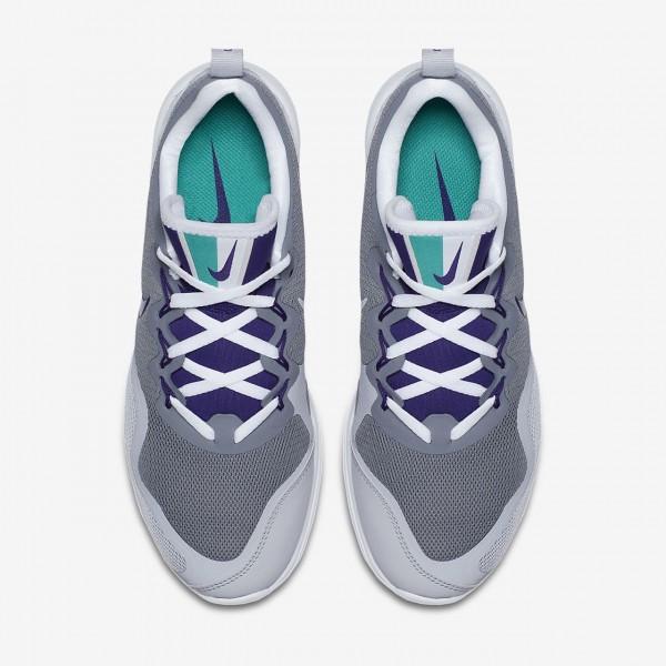 Nike Air Max Fury Laufschuhe Damen Grau Platin Lila 749-98746