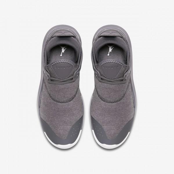Nike Jordan Fly 89 Outdoor Schuhe Jungen Dunkelgrau Platin Rot 244-56617