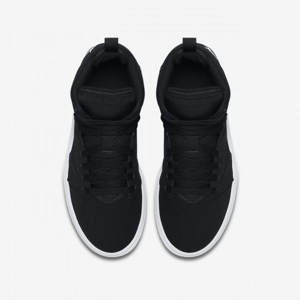 Nike Jordan Flight Legend Basketballschuhe Jungen Schwarz Weiß 868-38554
