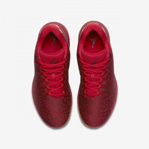 Nike Jordan B Fly Basketballschuhe Jungen Rot Braun Schwarz 811-97892