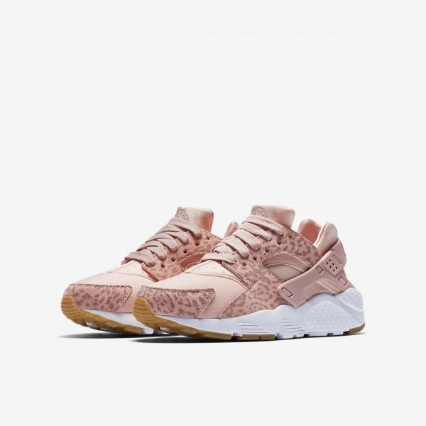 Nike Huarache Se Freizeitschuhe Jungen Rosa Hellbraun Weiß Pink 561-85959