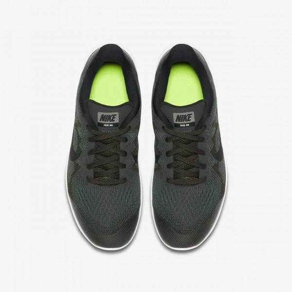 Nike Free Rn 2017 Laufschuhe Jungen Grün Olive Schwarz 184-64371