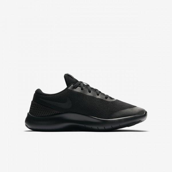 Nike Flex Experience Run 7 Laufschuhe Jungen Schwarz 458-37846