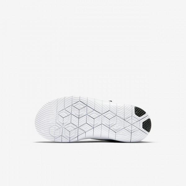 Nike Flex Contact Laufschuhe Jungen Schwarz Weiß Dunkelgrau 767-96471