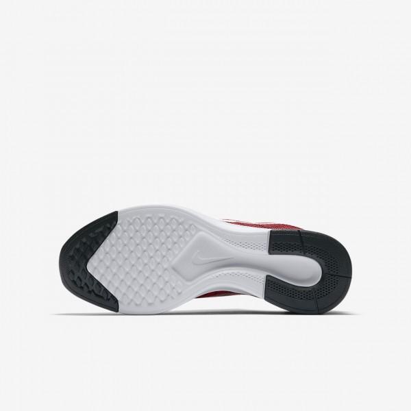 Nike Dualtone Racer Freizeitschuhe Jungen Rot Schwarz Weiß 688-19638