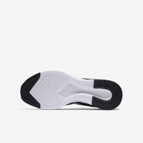 Nike Dualtone Racer Freizeitschuhe Jungen Schwarz Weiß 210-57030