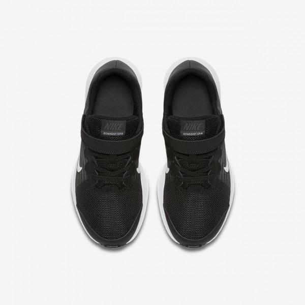Nike Downshifter 8 Laufschuhe Jungen Schwarz Dunkelgrau Weiß 955-31447