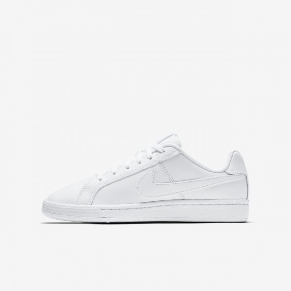 Nike Court Royale Freizeitschuhe Jungen Weiß 781-...