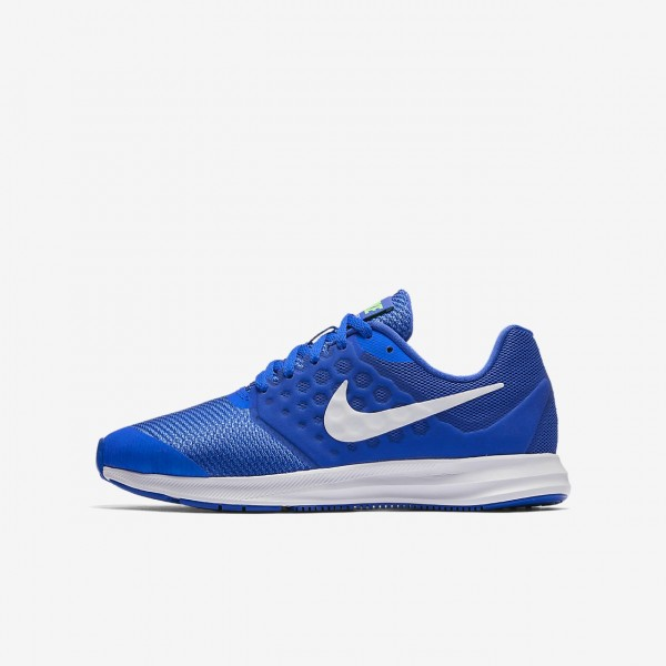 Nike Downshifter 7 Laufschuhe Jungen Blau Grün We...