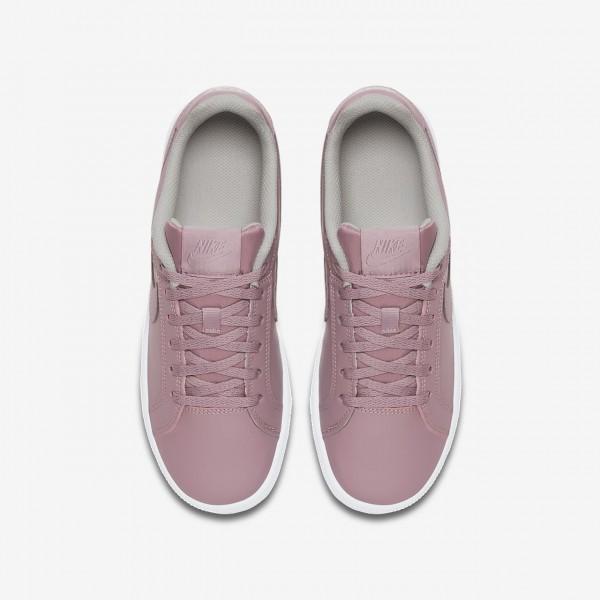 Nike Court Royale Freizeitschuhe Jungen Rosa Grau Weiß 142-48194