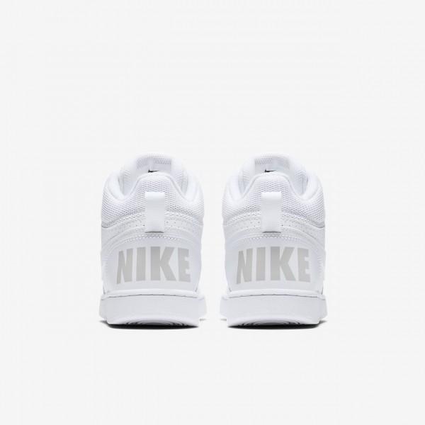Nike Court Borough Mid Freizeitschuhe Jungen Weiß 253-50738