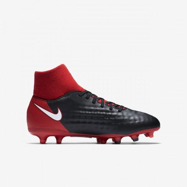 Nike Jr. Magista Onda II Dynamic Fit Fg Fußballschuhe Mädchen Schwarz Rot Weiß 350-68600