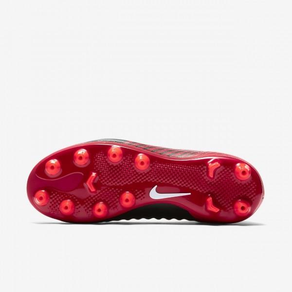 Nike Jr. Magista Onda II Dynamic Fit Ag-pro Fußballschuhe Mädchen Schwarz Rot Weiß 162-77474