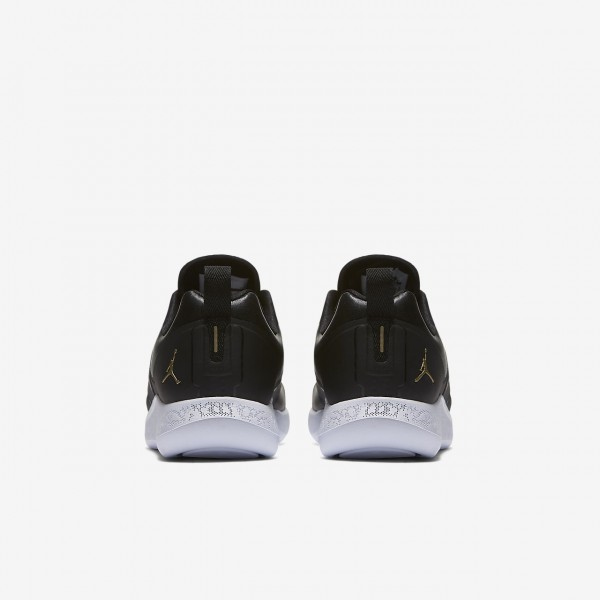 Nike Jordan Grind Laufschuhe Mädchen Schwarz Weiß Metallic Gold 415-75105