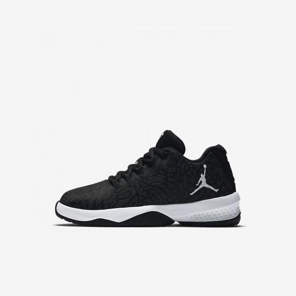 Nike Jordan B Fly Basketballschuhe Mädchen Schwarz Weiß 429-90524