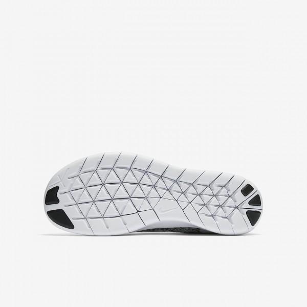 Nike Free Rn 2017 Laufschuhe Mädchen Grau Pink Weiß Schwarz 826-68700