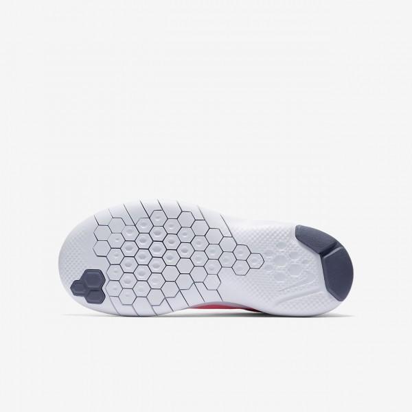 Nike Flex Experience Run 7 Laufschuhe Mädchen Rosa Weiß Hellgrau 245-39932