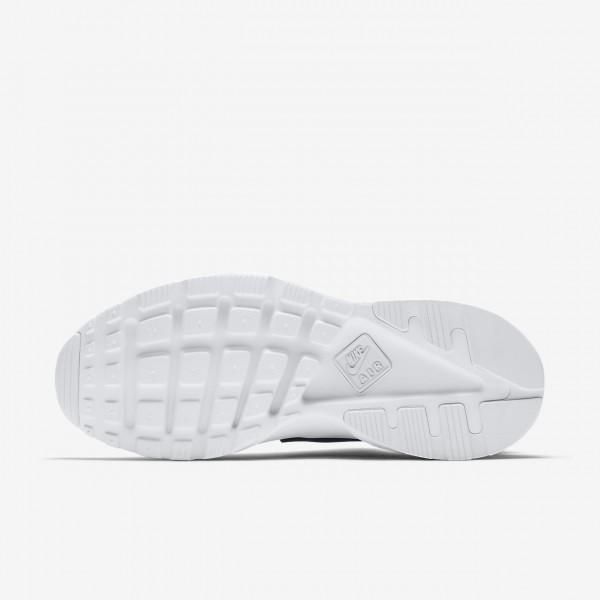 Nike Air Huarache Ultra Freizeitschuhe Herren Schwarz Weiß 381-74390