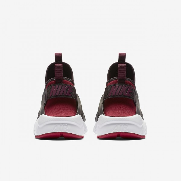 Nike Air Huarache Ultra Freizeitschuhe Herren Rot Weiß Bordeaux 258-41408