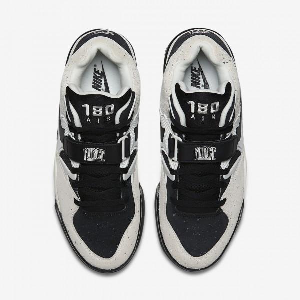 Nike Air Force 180 Freizeitschuhe Herren Weiß Schwarz 480-11167