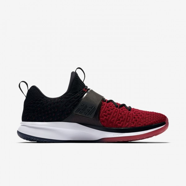 Nike Air Jordan Trainer 2 Flyknit Trainingsschuhe Herren Rot Schwarz 836-39757