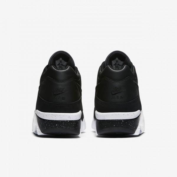 Nike Air Force 180 Freizeitschuhe Herren Schwarz Weiß 577-91523