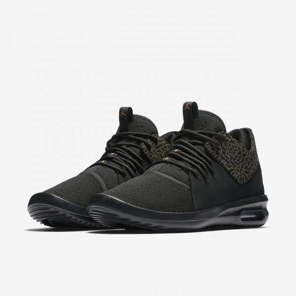 Nike Air Jordan First Class Freizeitschuhe Herren Schwarz Metallic Gold 310-33091