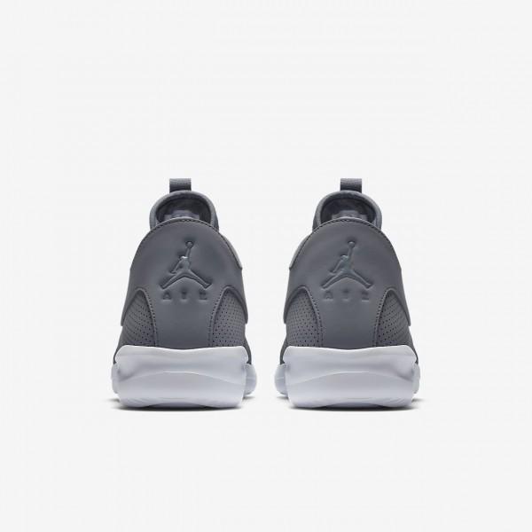 Nike Air Jordan First Class Freizeitschuhe Herren Grau Weiß 279-28914