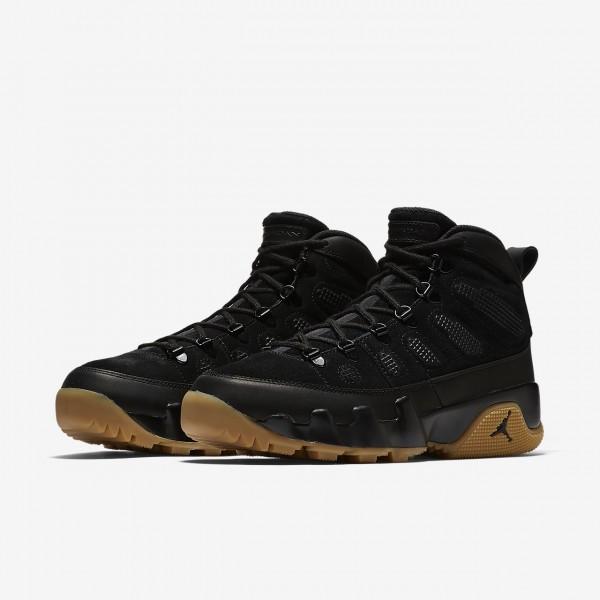 Nike Air Jordan 9 Retro NRG Boots Herren Schwarz Hellbraun 162-13588