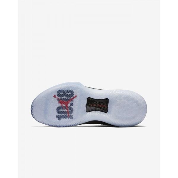 Nike Air Jordan XXXII Bred Basketballschuhe Herren Schwarz Rot 747-69867