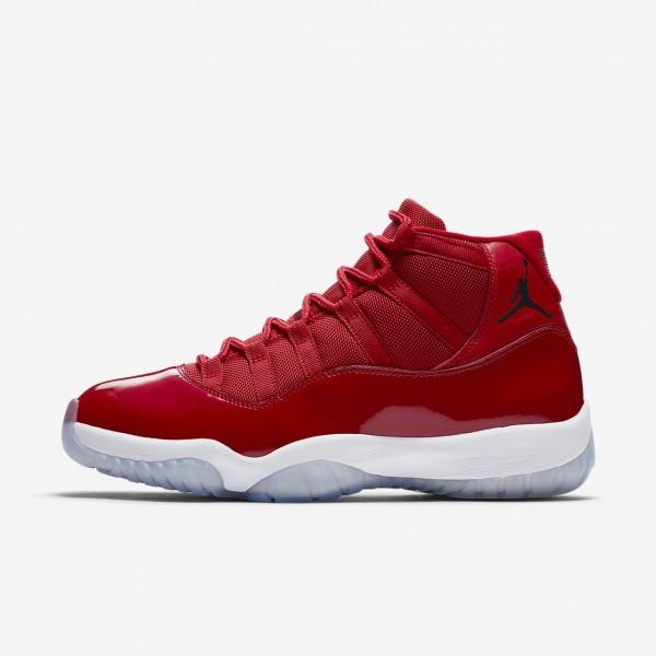Nike Air Jordan XI Retro Freizeitschuhe Herren Rot...