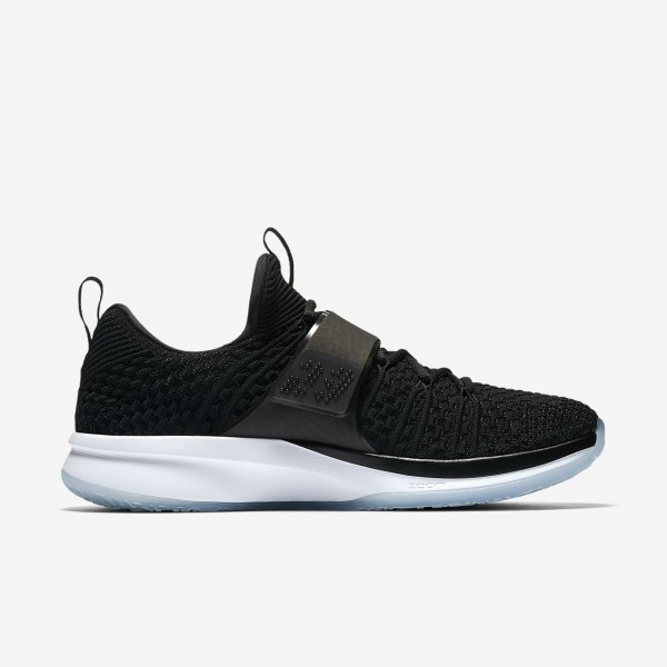 Nike Air Jordan Trainer 2 Flyknit Trainingsschuhe Herren Schwarz Weiß 491-46592