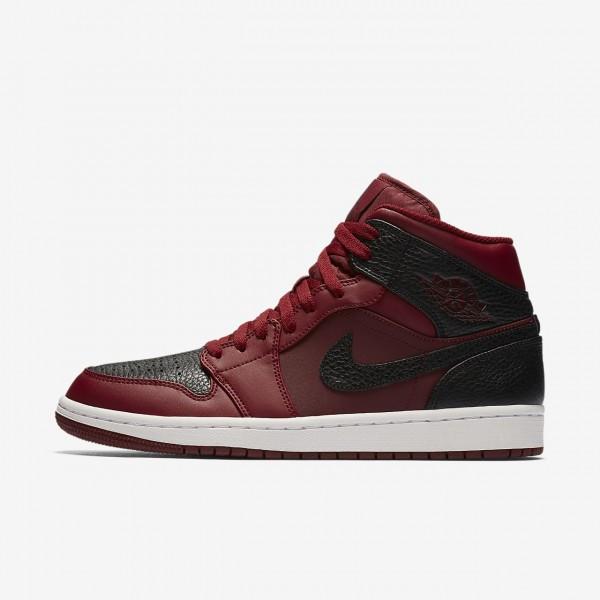 Nike Air Jordan 1 Mid Freizeitschuhe Herren Rot We...