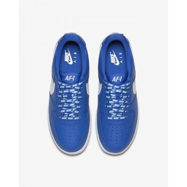 Nike Air Force 1 low 07 Nba Freizeitschuhe Herren Königsblau Weiß 756-92194