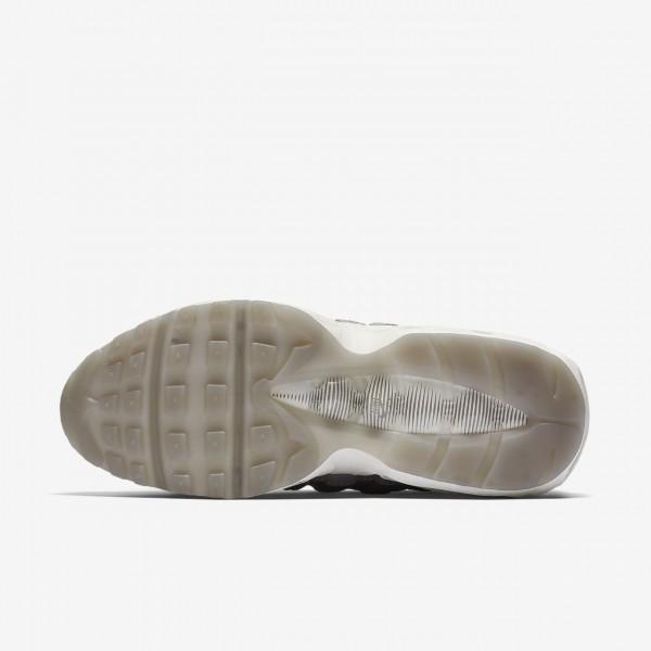 Nike Air Max 95 Lx Freizeitschuhe Damen Weiß Grau 249-25342