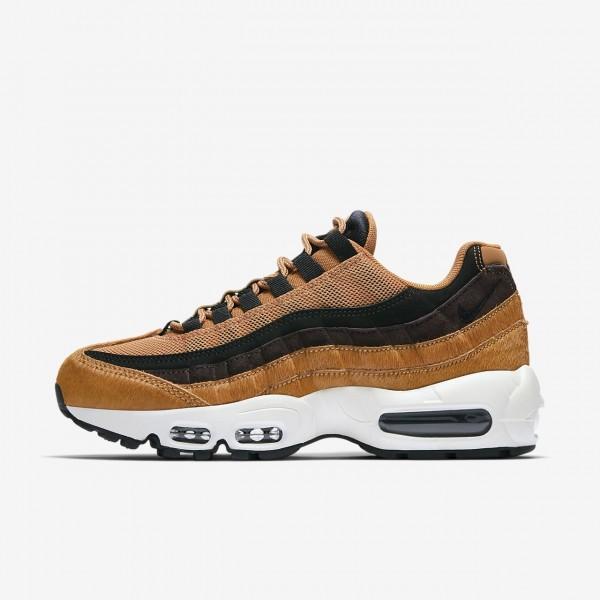 Nike Air Max 95 Lx Freizeitschuhe Damen Orange Wei...