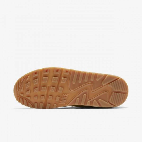 Nike Air Max 90 Ns Se Freizeitschuhe Damen Gelb Gold Hellbraun 303-10556