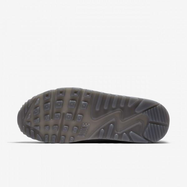 Nike Air Max 90 Lx Freizeitschuhe Damen Weiß Grau 399-51583