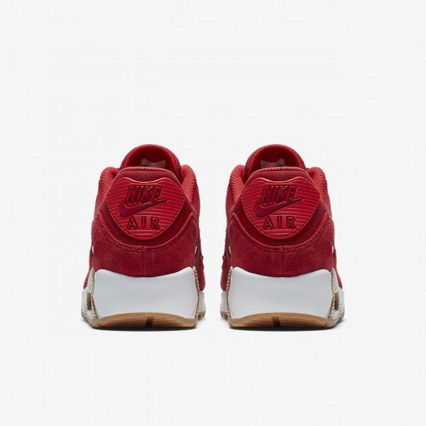 Nike Air Max 90 Ns Se Freizeitschuhe Damen Rot Weiß Hellbraun 233-70910
