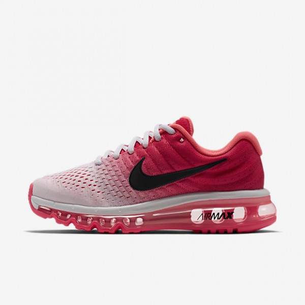 Nike Air Max 2017 Laufschuhe Damen Weiß Rosa Schw...