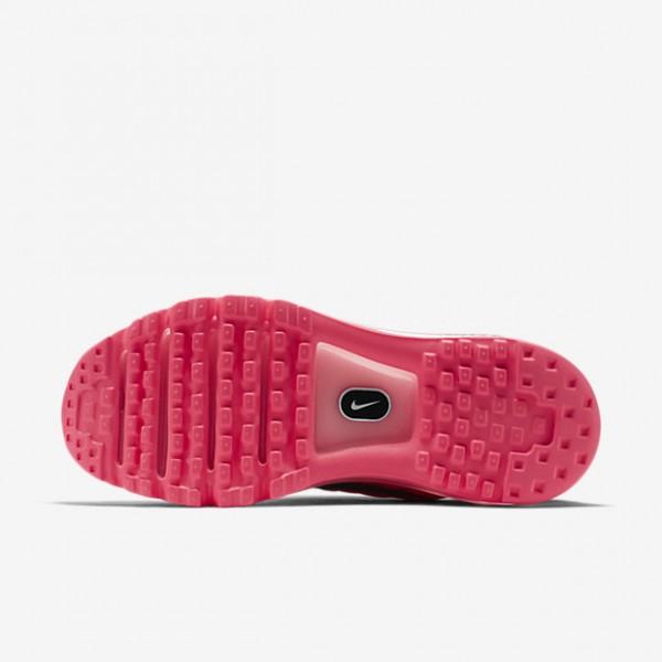Nike Air Max 2017 Laufschuhe Damen Weiß Rosa Schwarz 416-59054