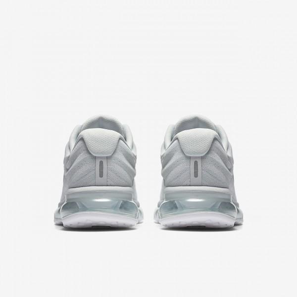 Nike Air Max 2017 Laufschuhe Damen Weiß Platin Weiß Grau 137-64371