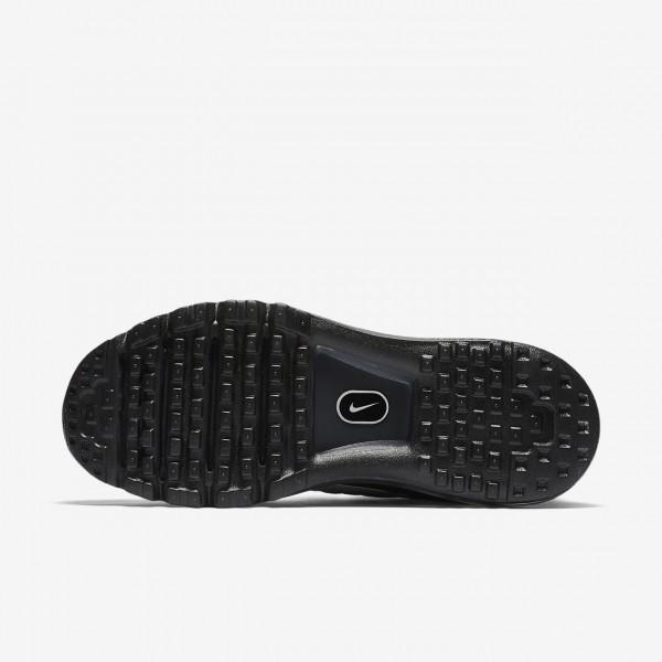Nike Air Max 2017 Laufschuhe Damen Schwarz Weiß 157-34072
