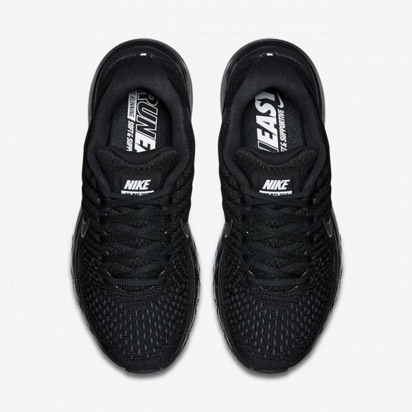 Nike Air Max 2017 Laufschuhe Damen Schwarz 527-18053