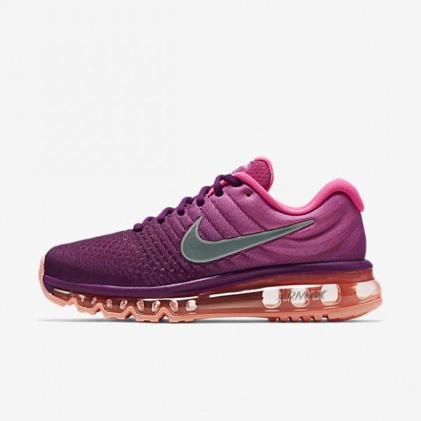 Nike Air Max 2017 Laufschuhe Damen Lila Pink Weiß...