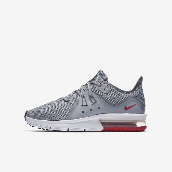 NIKE Air Max Sequent 3 Sneaker Turnschuhe Schwarz | real