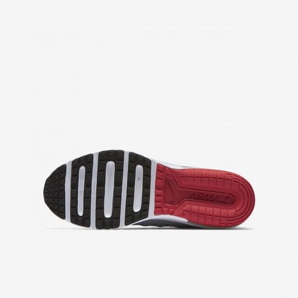 Nike Air Max Sequent 3 Laufschuhe Jungen Grau Schwarz Platin 666-79144
