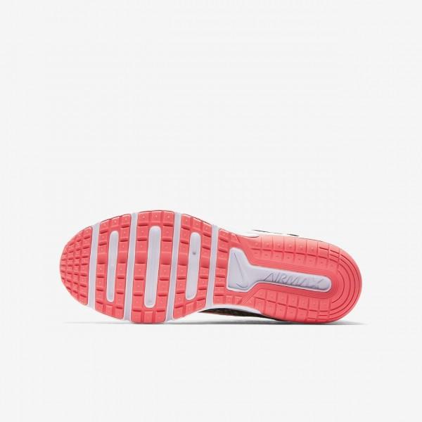 Nike Air Max Sequent 2 Laufschuhe Jungen Schwarz Grau Pink 699-74926